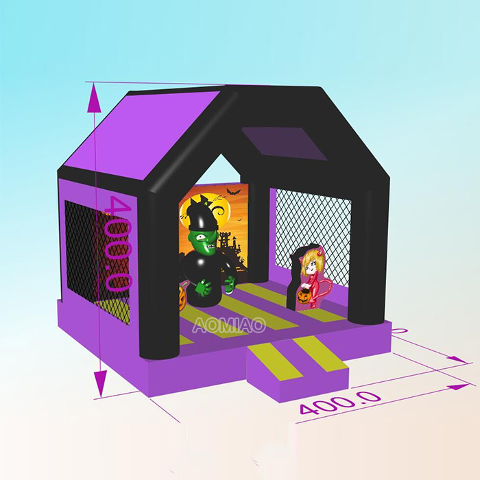 inflatable halloween jumping castles