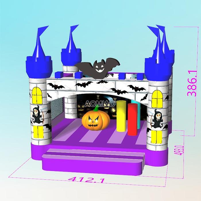 Halloween Inflatable Bouncer