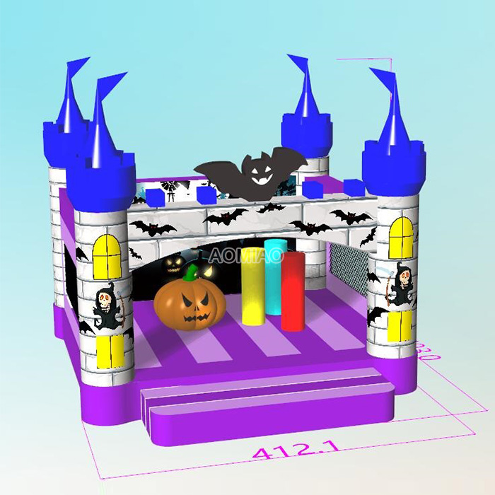 Commercial Halloween Inflatable Bouncer