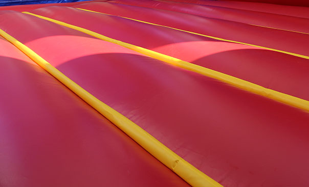 small inflatable bounce house