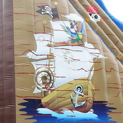biggest inflatable slide