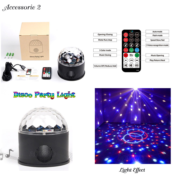 inflatable snow globe party light