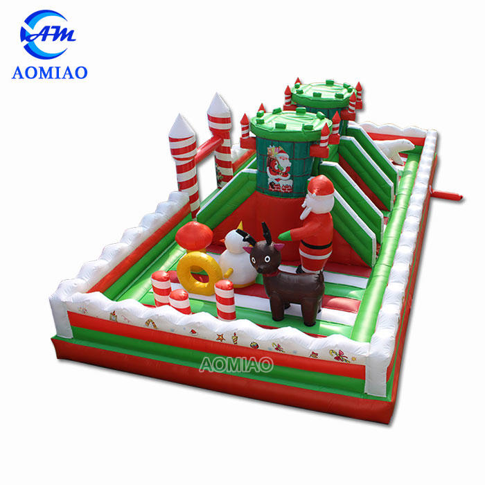 39FT Christmas Inflatable Amusement Park Backyard Playground - FC1803