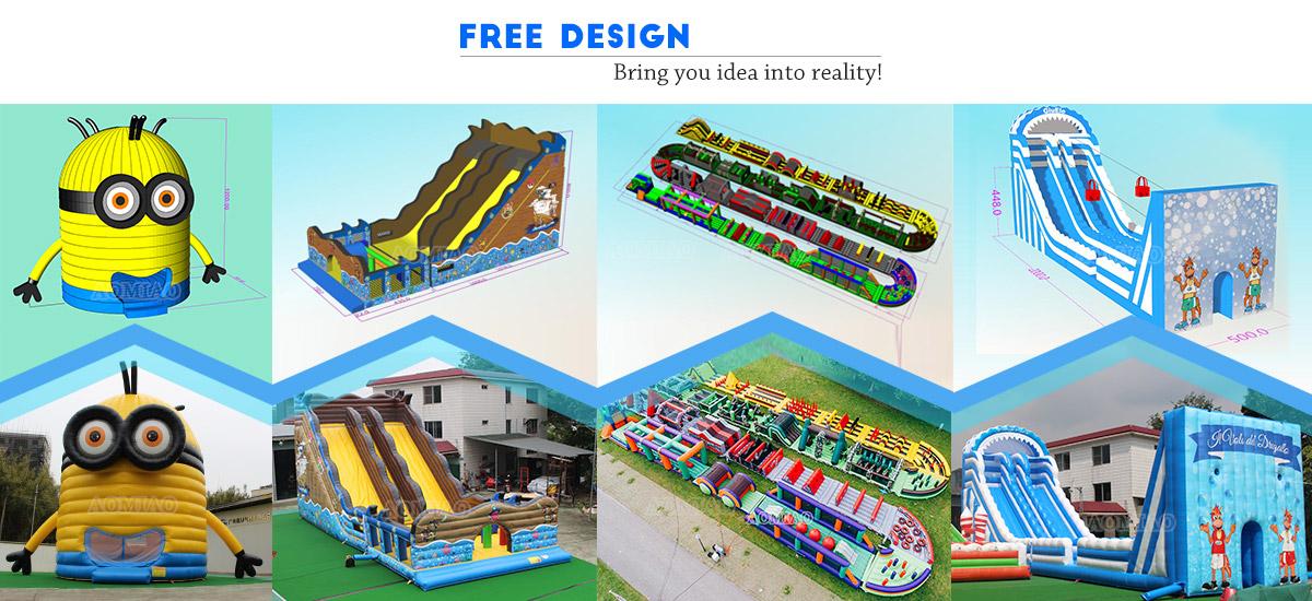 Large Inflatable Pool Slide
