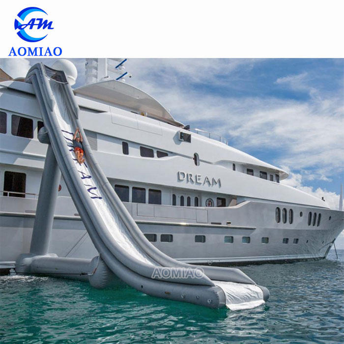 25FT Height Customized Freestyle Inflatable Boat Water Slide For Yacht - SL1779
