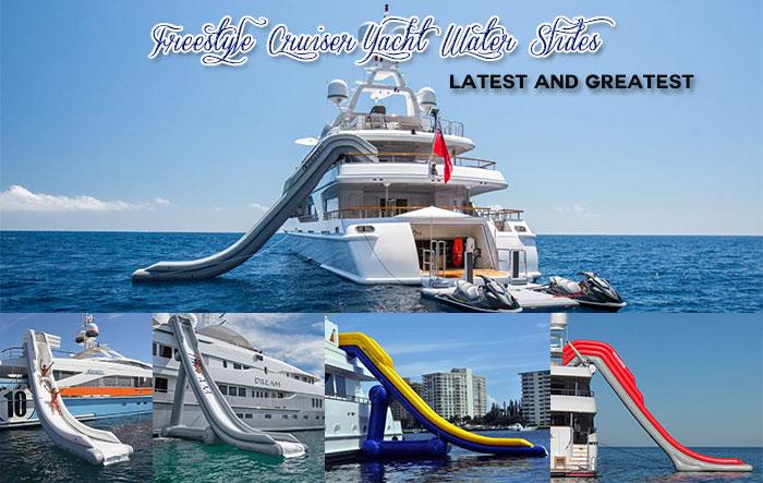 Yacht Water Slides