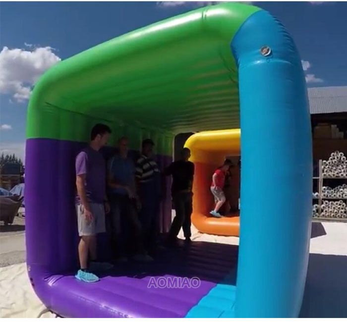 inflatable flip it game