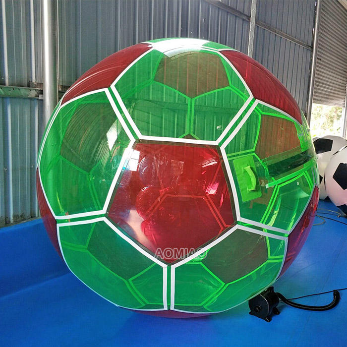 Football Style Inflatable Water Walking Hamster Zorb Ball For Pool - WB4