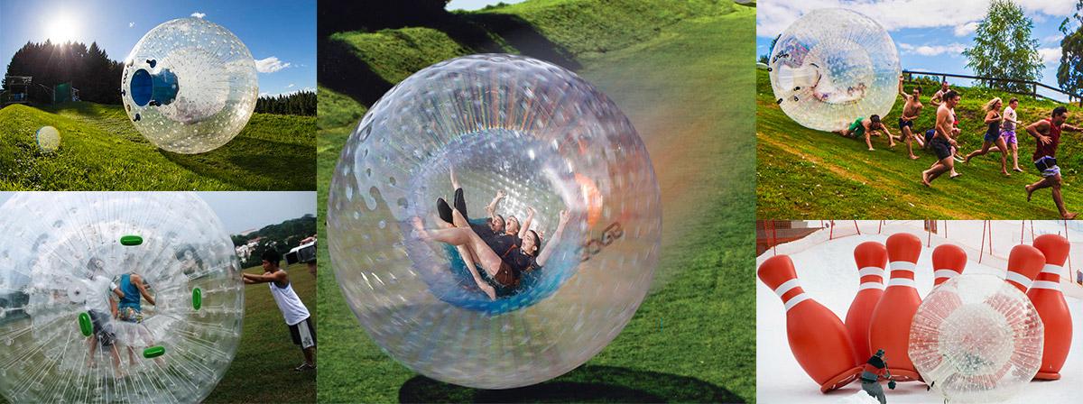 inflatable hamster ball