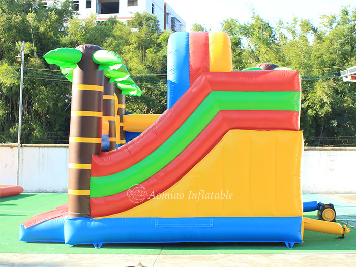 cheap bounce house with slide