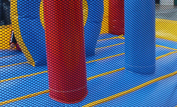 cheap bounce houses playground