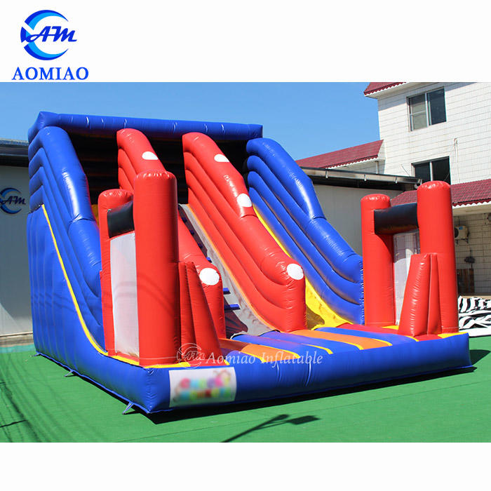 7m x 5m Colorful Outdoor Inflatable Slide For Kids - SL1780