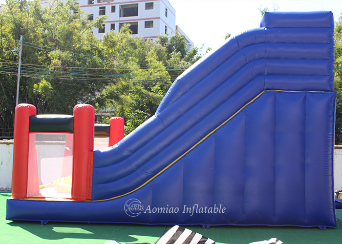 colorful outdoor inflatable slide