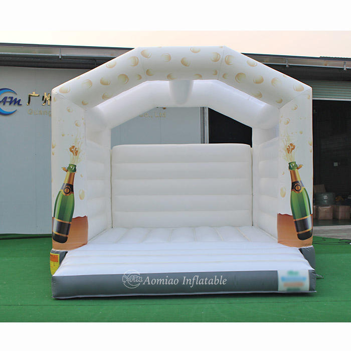 5mx4m Cheap White Inflatable Bounce House Inflatable Bouncers For Sale - BO1792