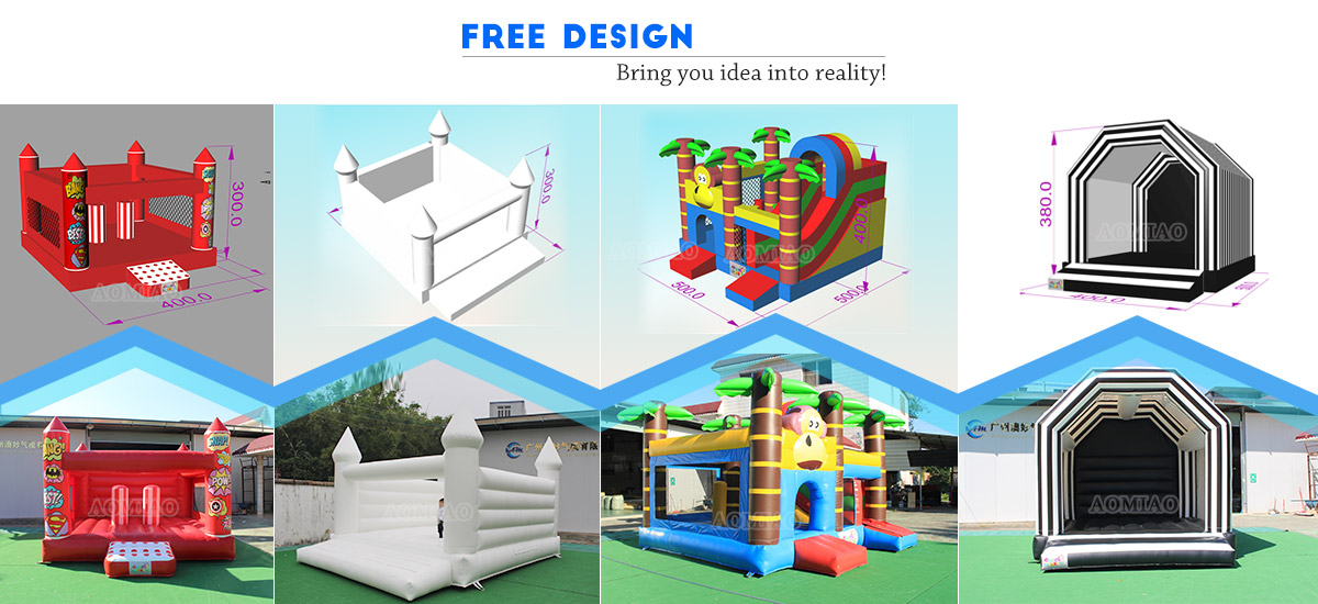 inflatable bouncers manufacture
