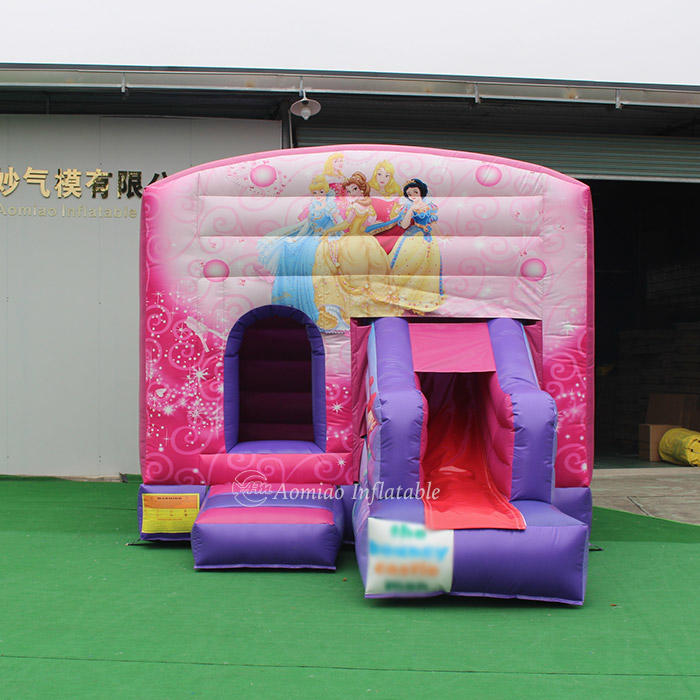 5m x 4m Commercial Indoor Inflatable Bouncer - Snow White Theme BO1793