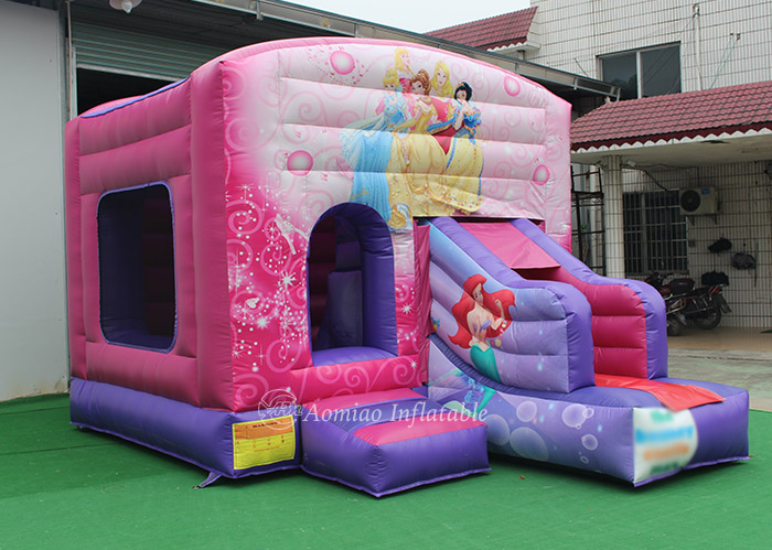 pink indoor inflatable bouncer