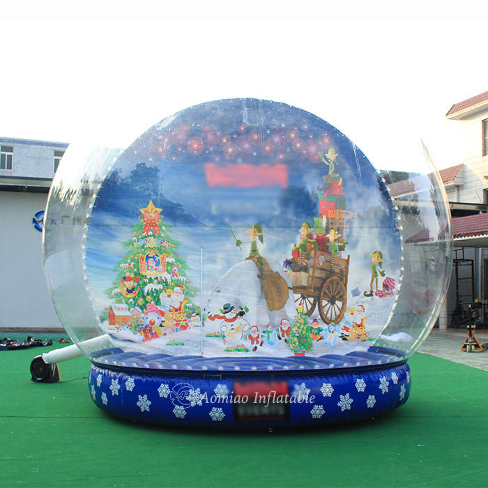 Dia 5m Giant Christmas Inflatables Snow Globes - SGg1803
