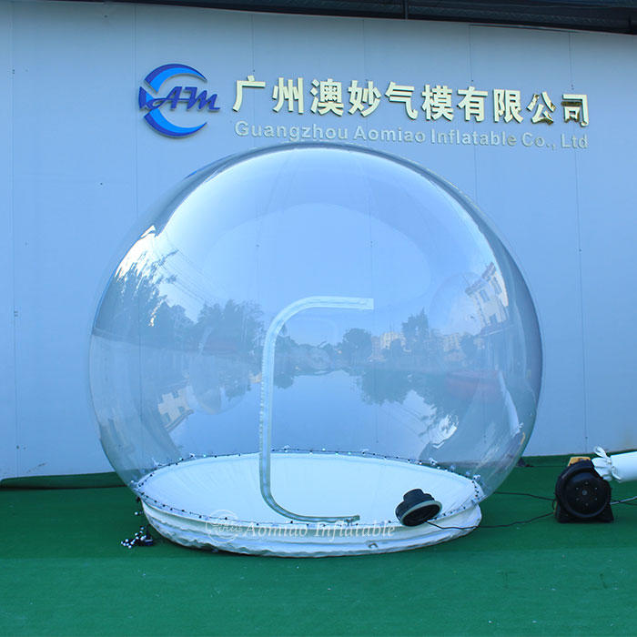 Dia 2m Clear Tent Inflatable Yard Decorations Christmas Blow Up Snow Globe