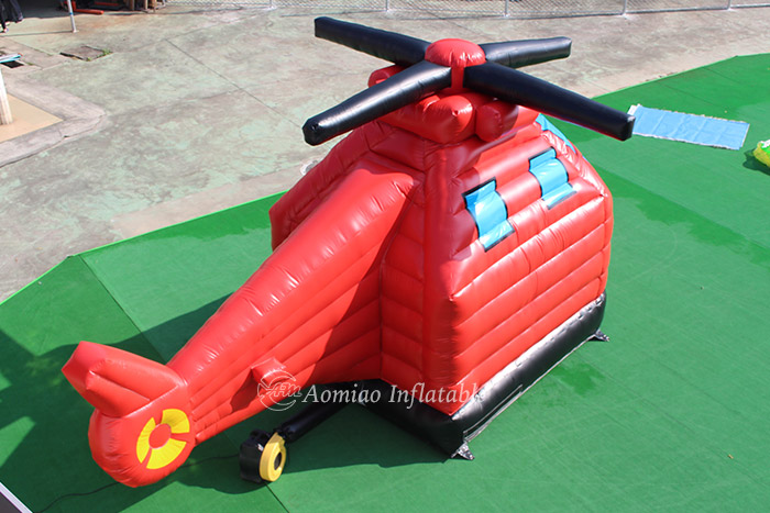 Helicopter inflatable bounce houses