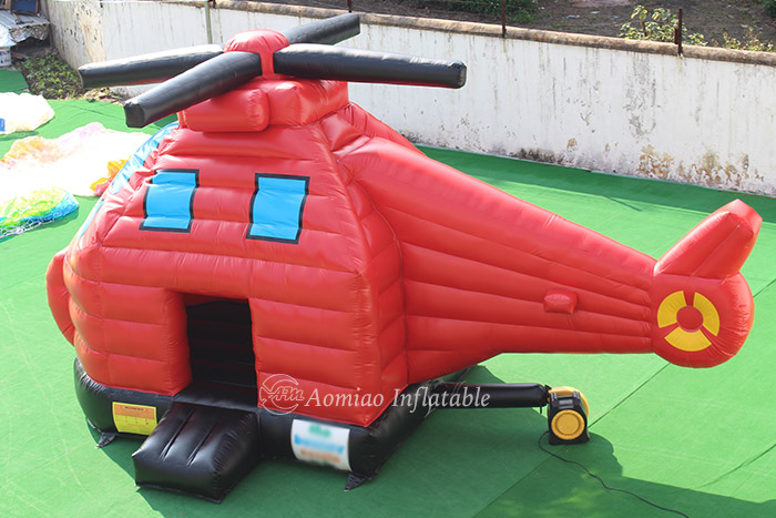 Copter Inflatable Bounce House