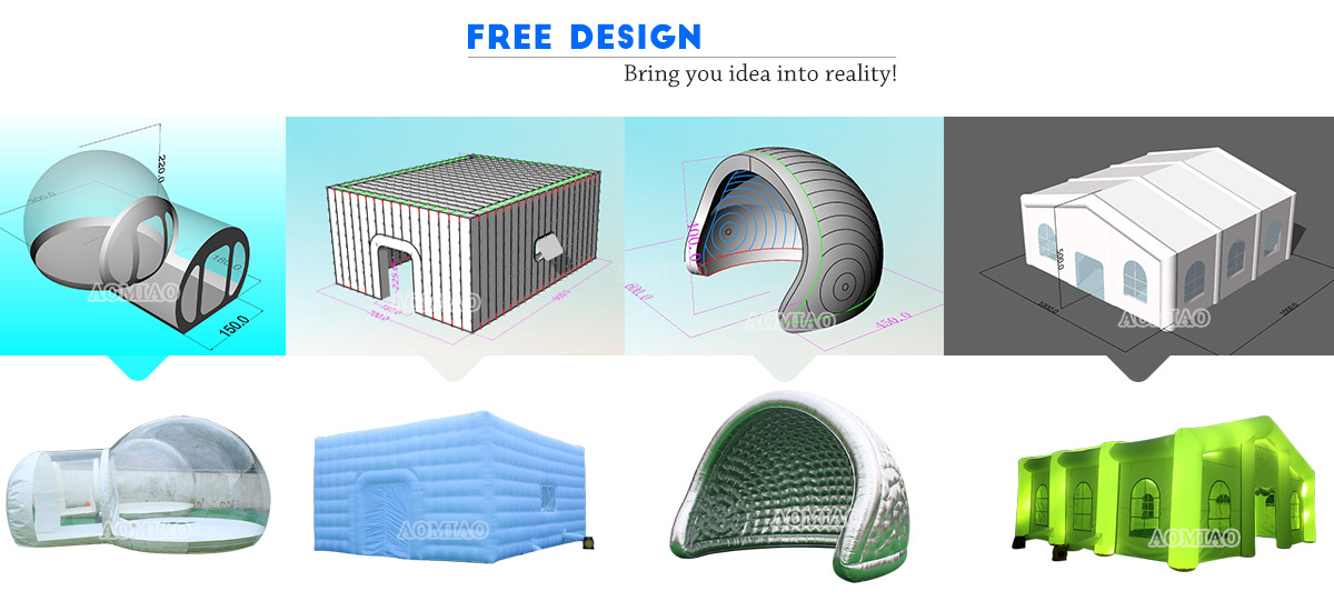 inflatable dome camping tents