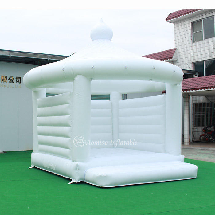 White Wedding Bounce House Inflatable Bouncer