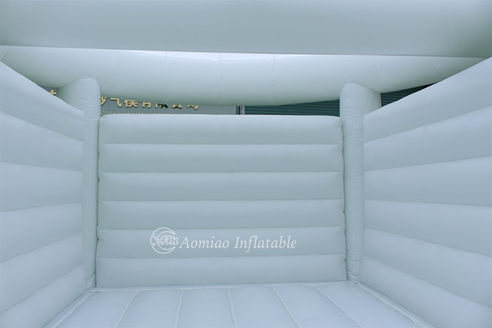white inflatable bouncer for sale