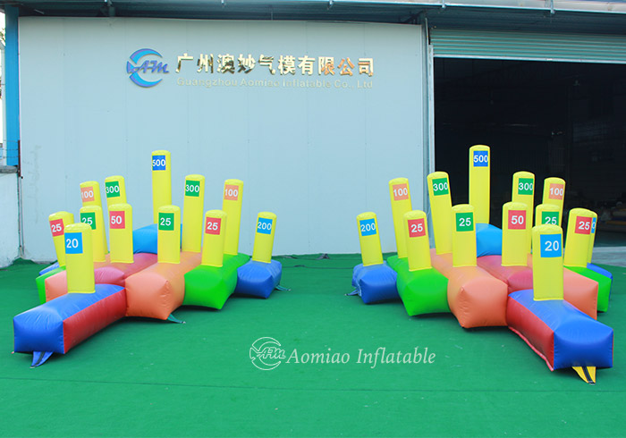 Giant Inflatable HULA HOOP Ring Toss Game