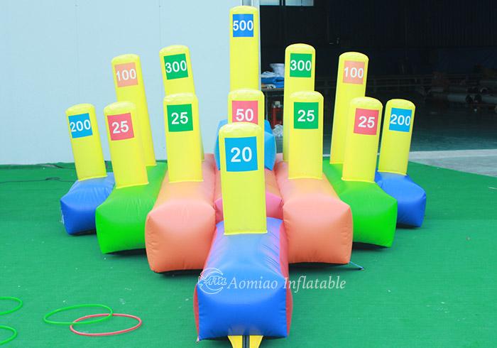Giant Inflatable HULA HOOP Game