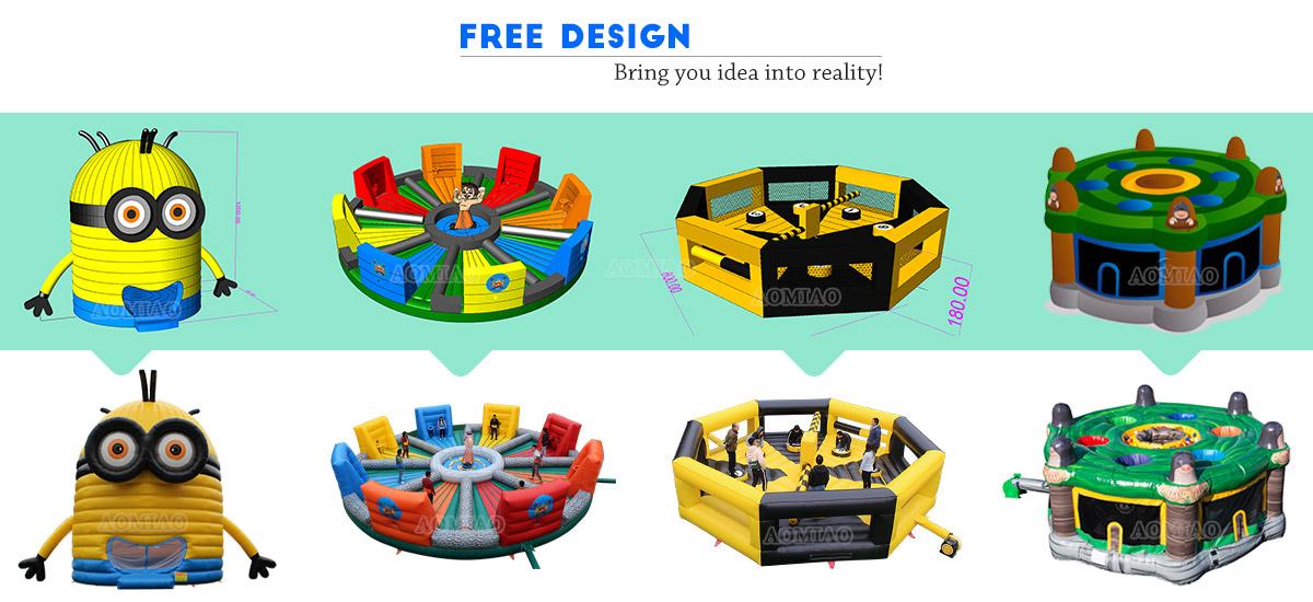 Custom Giant Inflatable Hoopla Game