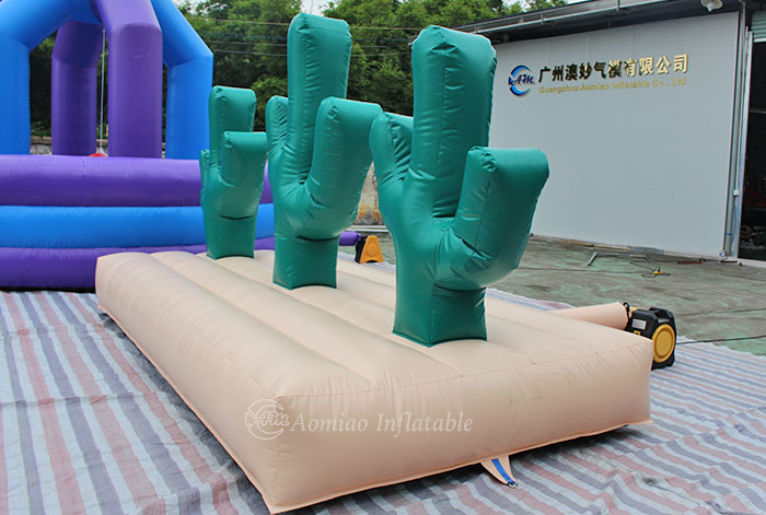 Inflatable Cactus Hoopla Game