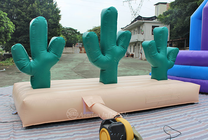 Inflatable Cactus Hoopla Game for sale