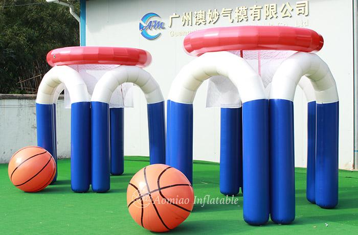 Giant Inflatable Monster Basketball Hoop