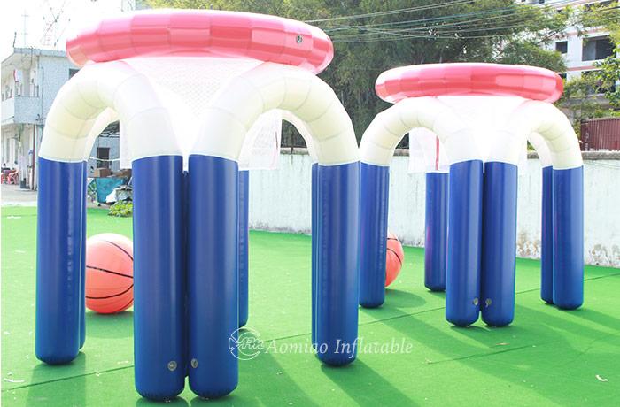 Inflatable Monster Basketball Hoop