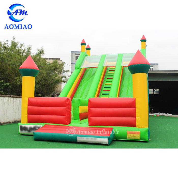 Giant Inflatable Slide Double Lane