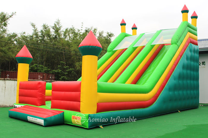 Giant Inflatable Slide Double Lane
