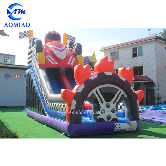 Racing Car Inflatable Slide For Sale