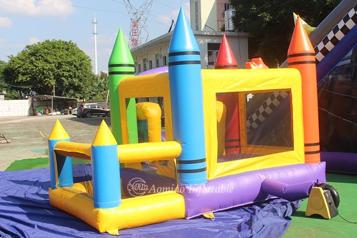 Kids Crayon Bounce House