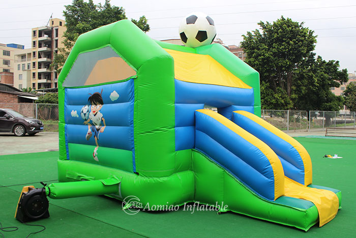 inflatable bouncy castle slide combo