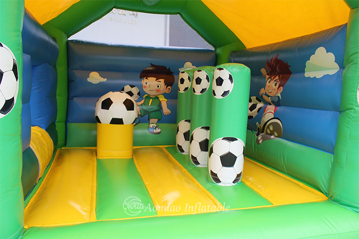 bouncy castle and slide for kids