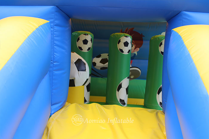 adult bouncy castle and slide