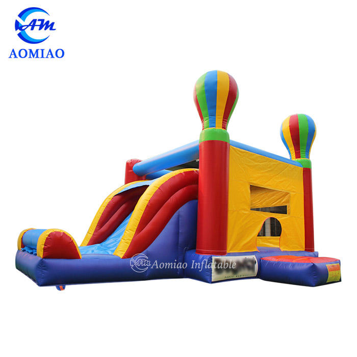 Kids Balloon Inflatable Bouncy Castle With Slide