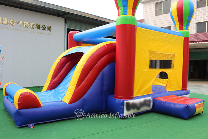 bouncy castle with slide for sale