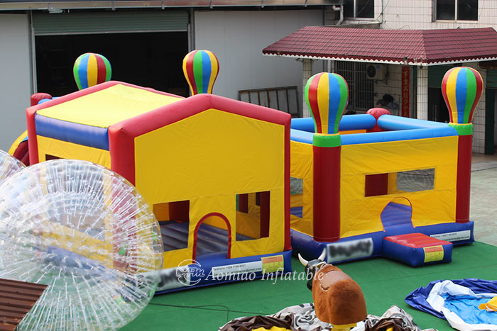 childrens bouncy castle with slide