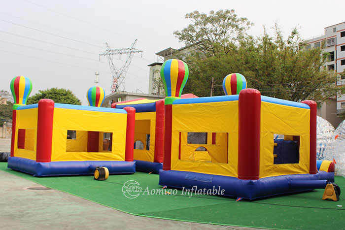 inflatable bouncy castle with slide