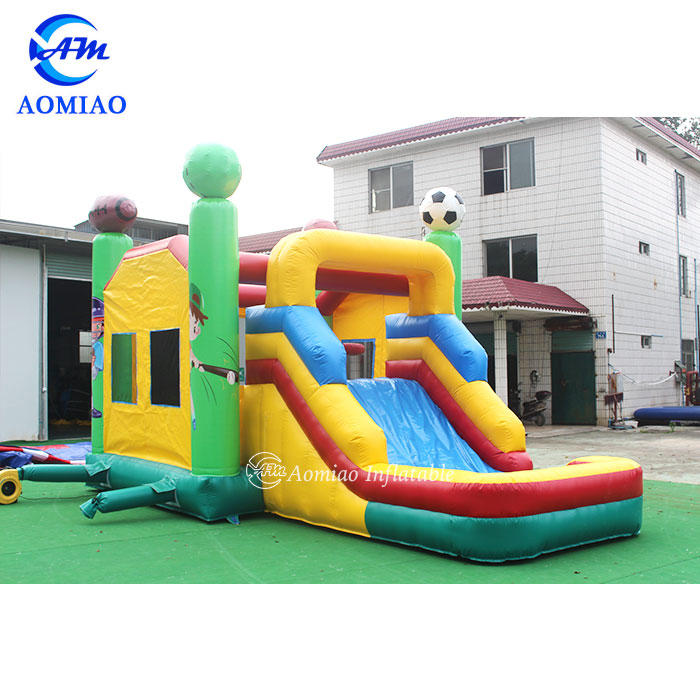 Sport Bounce House With Slide and Pool