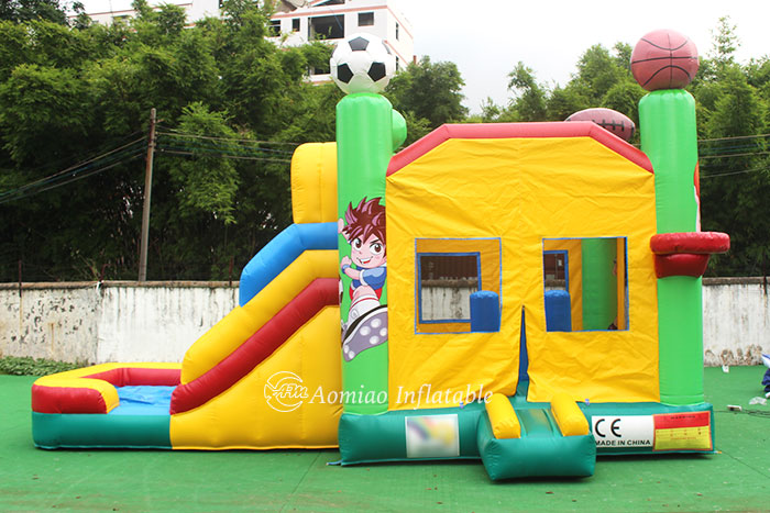 bounce house slide combo for sale