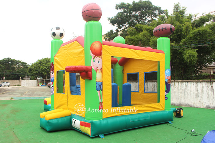 inflatable bounce house slide combo for sale