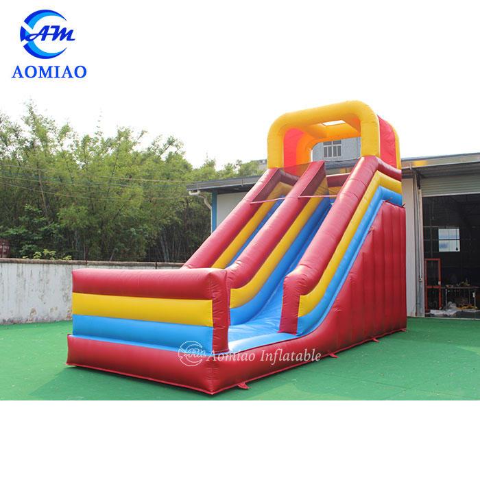 Colorful Kids Inflatable Slide